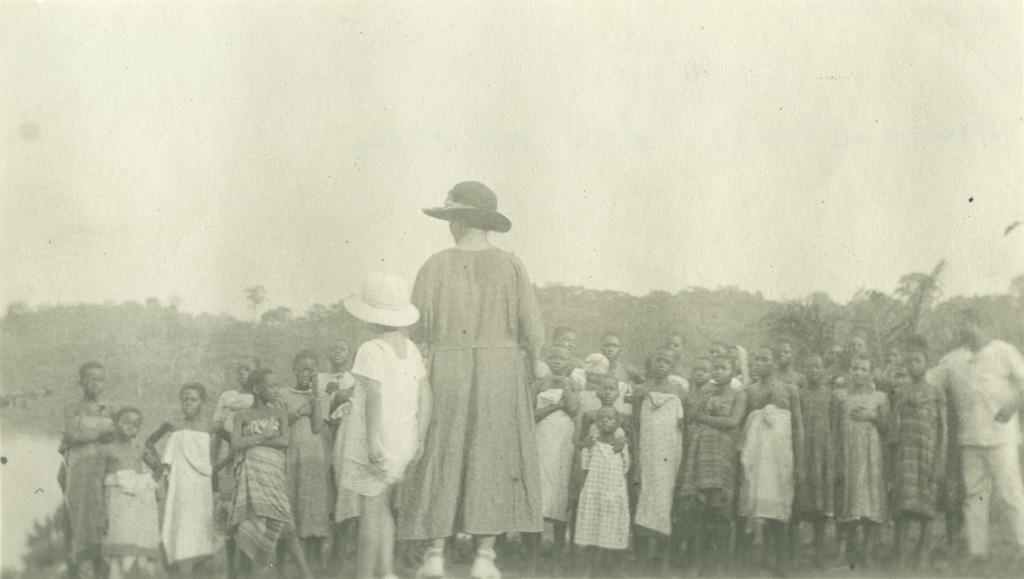 Jeunes élèves à Lambaréné