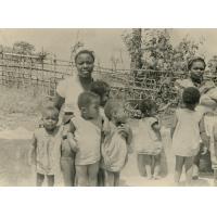 Jeunes enfants de la pouponnière, orphelinat de Bangangté