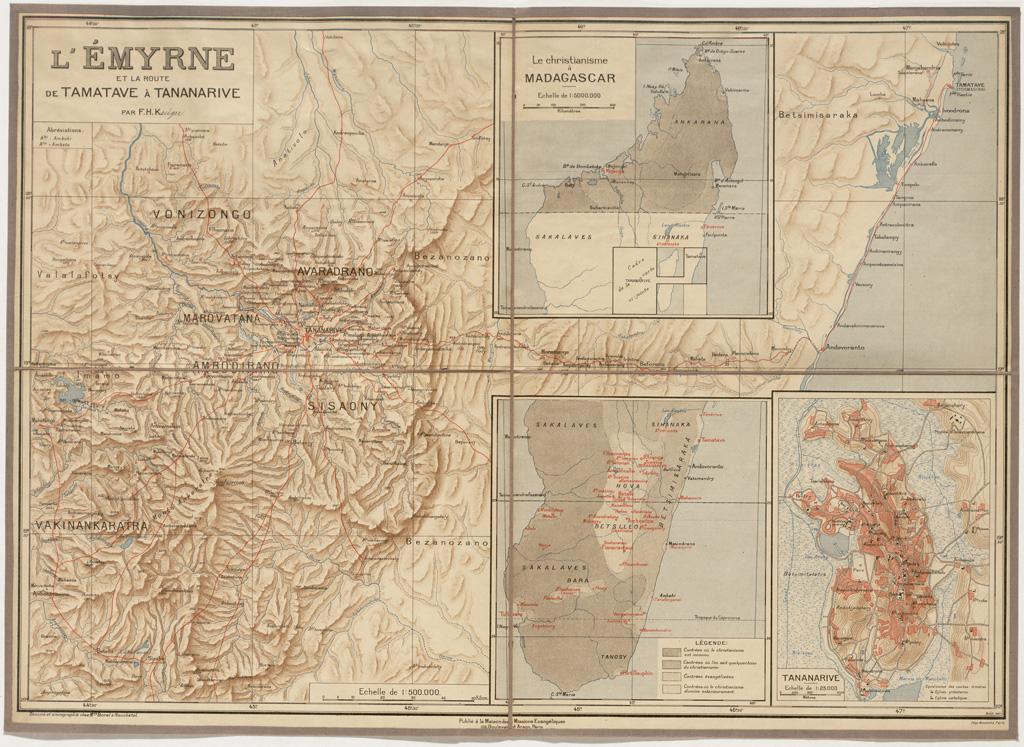 L'Emyrne et la route de Tamatave à Tananarive / Frédéric-Hermann Kruger (1897)