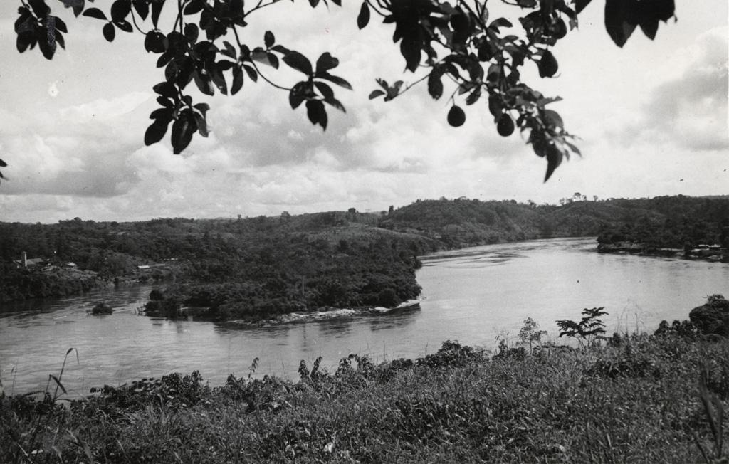 L'Ogooué à Ndjolé