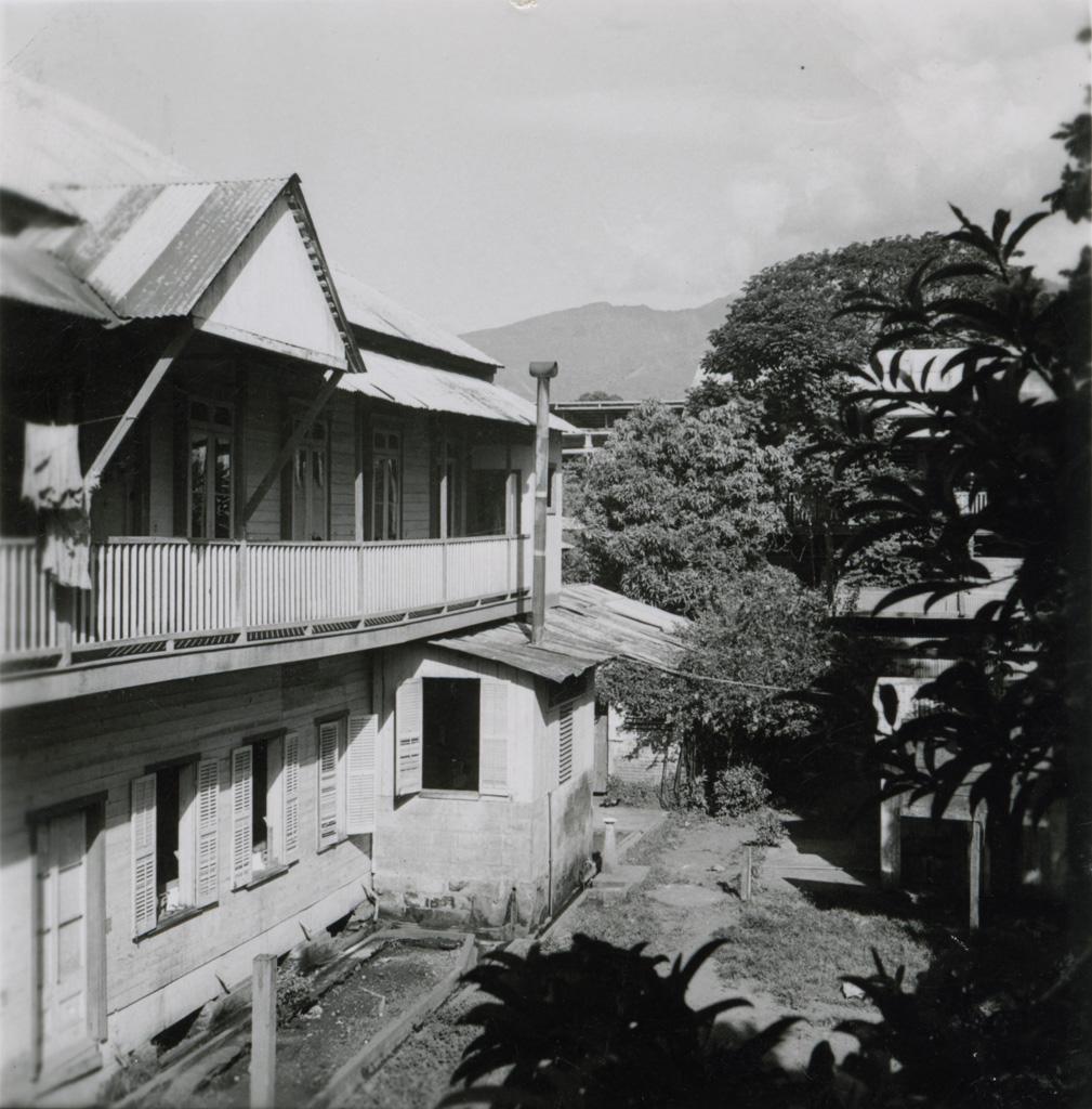 L'ancien internat de l'école des jeunes filles de Papeete