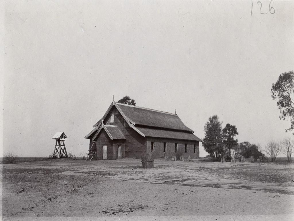 L'ancien temple de Lealui / G. Reutter