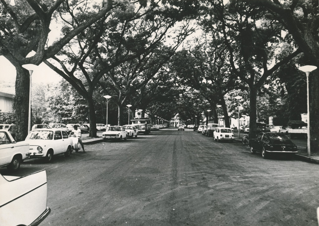 L'avenue principale de Papeete