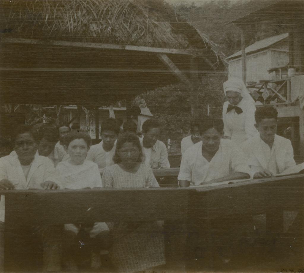 L'école des enfants lépreux d'Orofara