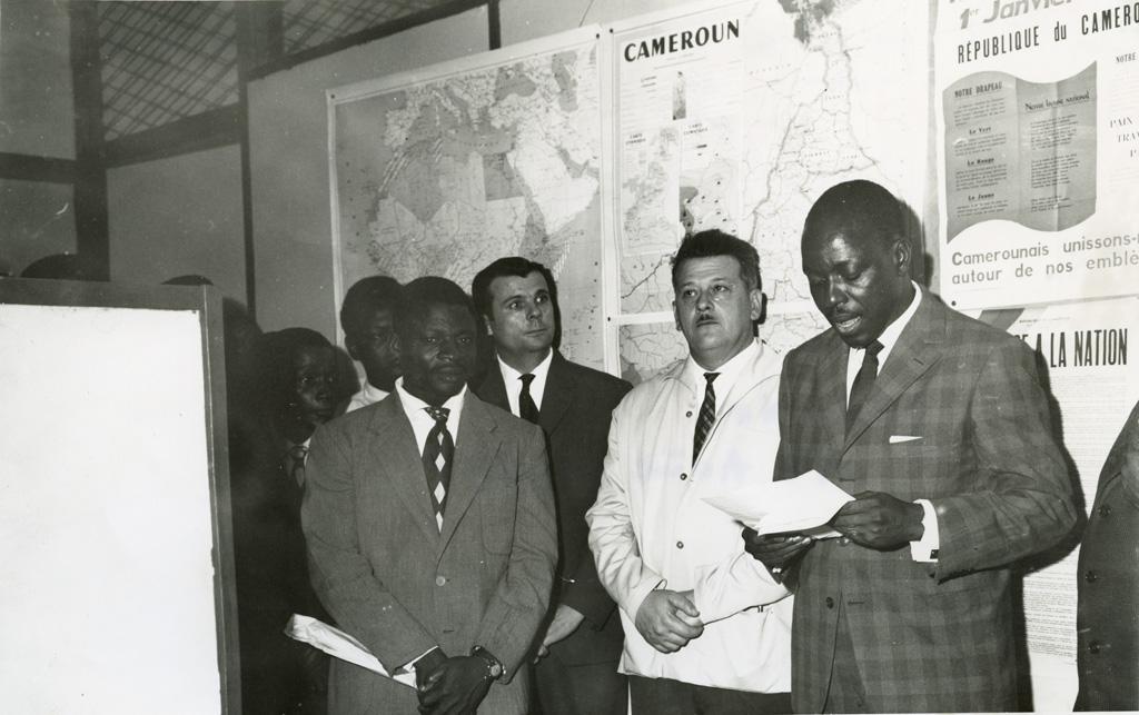 L'équipe de direction de la semaine camerounaise