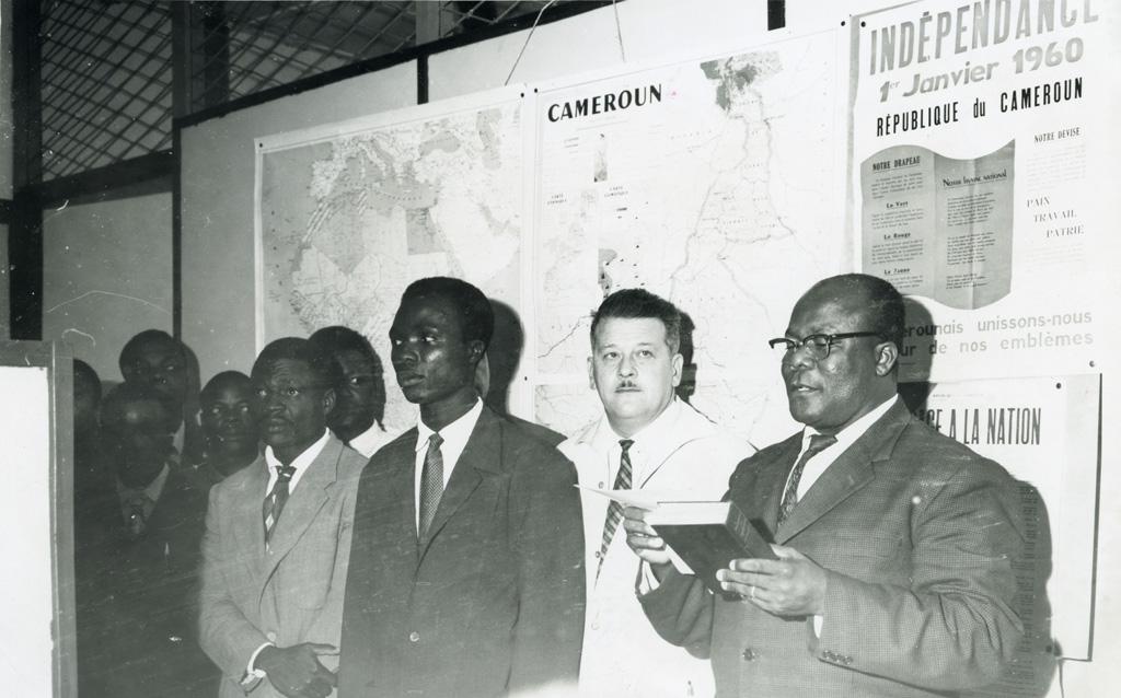 L'équipe de direction de la semaine camerounaise / non identifié (1961-08-14)