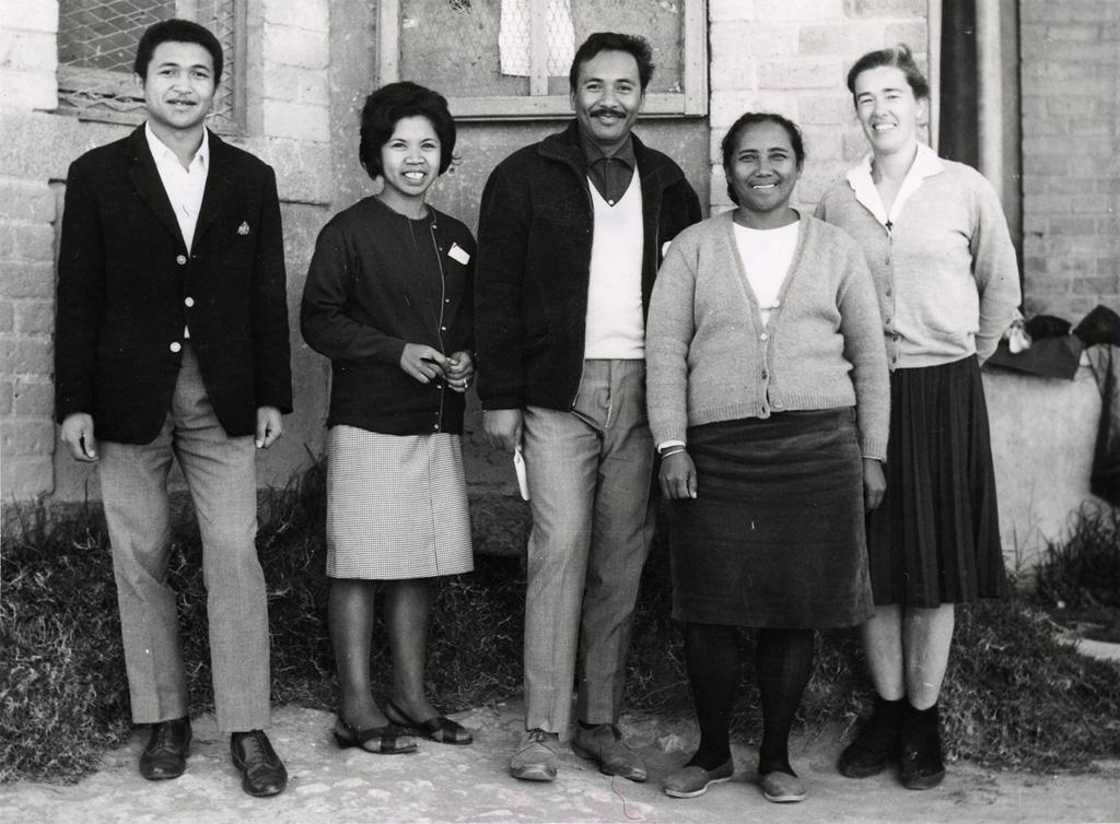 L'équipe des responsables du stage de formation des responsables d'internat