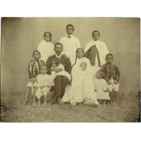 L'évangéliste d'Ahibeloma et sa famille