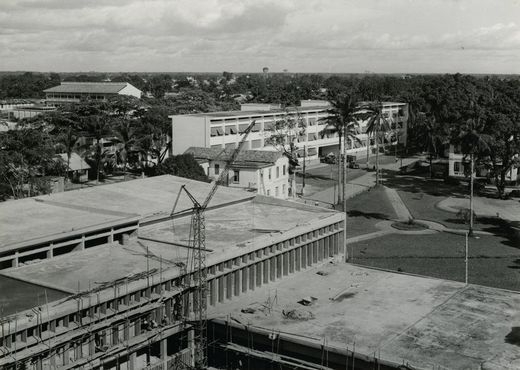 L'hôtel de ville de Douala
