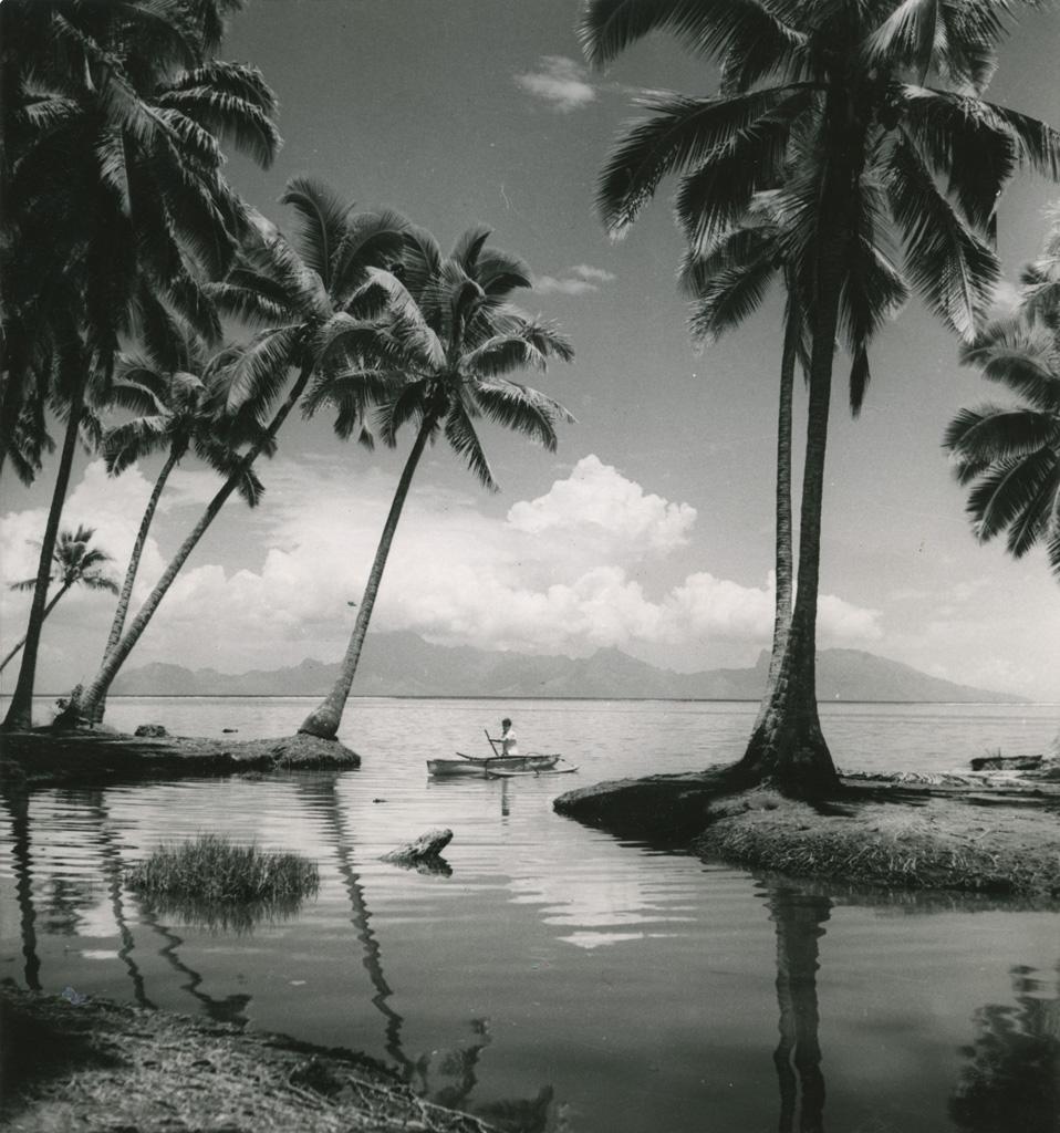 L'île de Moorea, vue de Tahiti