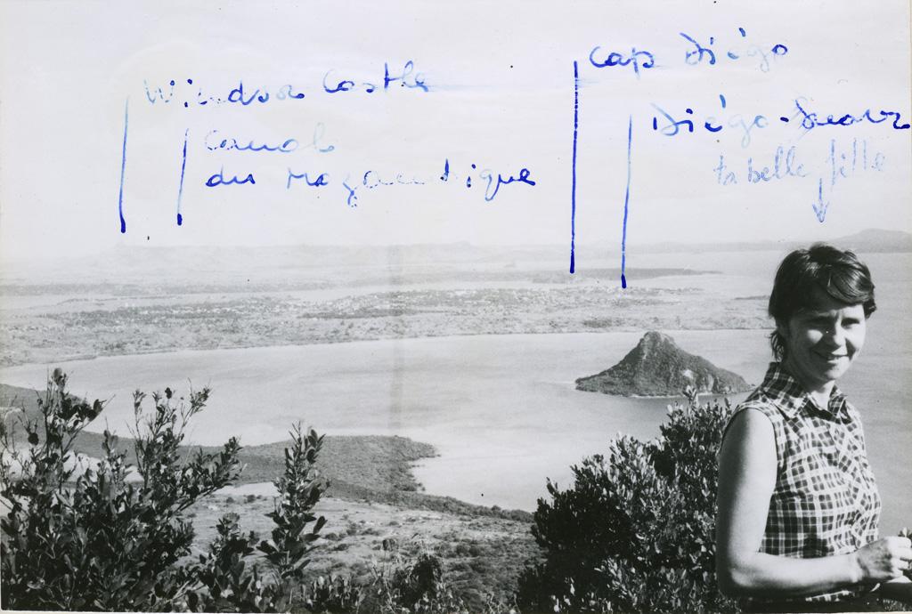 La baie vue de la montagne des Français, 7h du matin, Ramatoa Micheline Delord (née Frey)