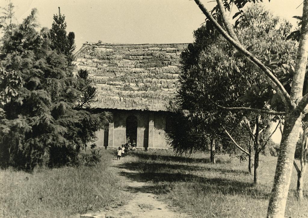 La chapelle de Bangwa