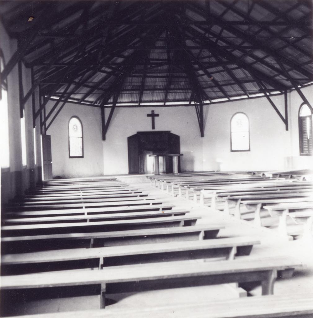 La chapelle de la station de Bafoussam