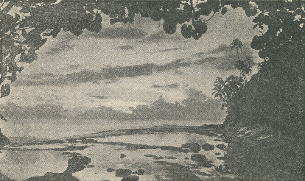 La côte ouest de Tahiti