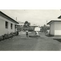La fontaine dans la cour de l'hôpital de Ndoungue