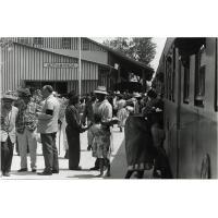 La gare de Moramanga