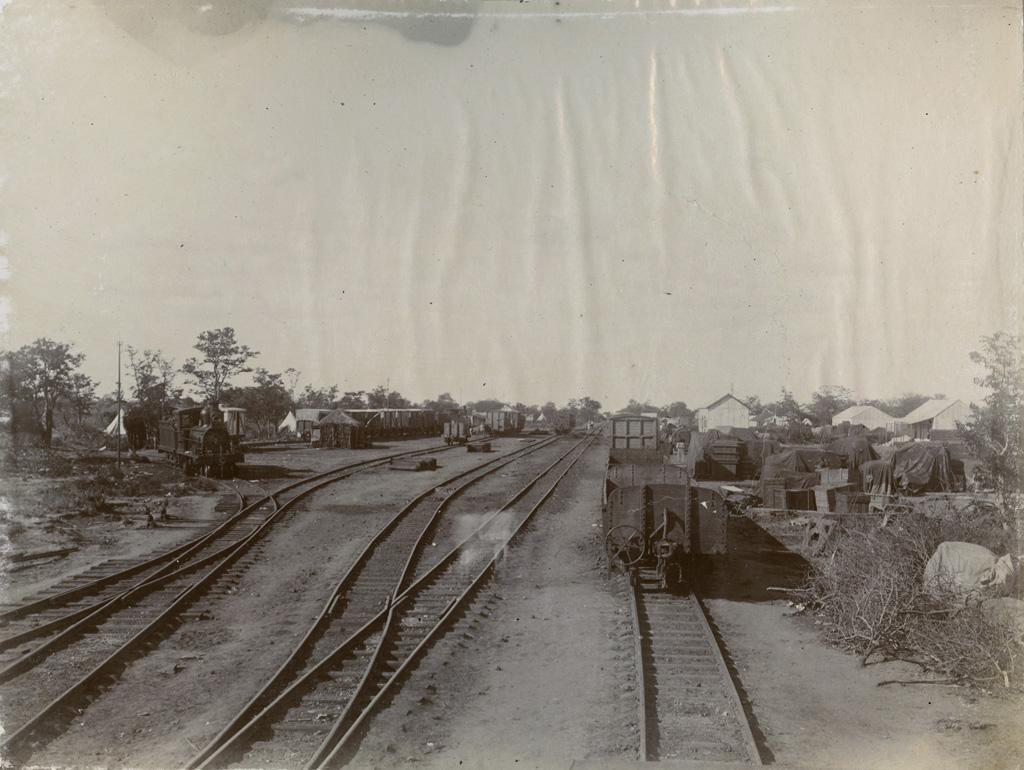 La gare de Palapye