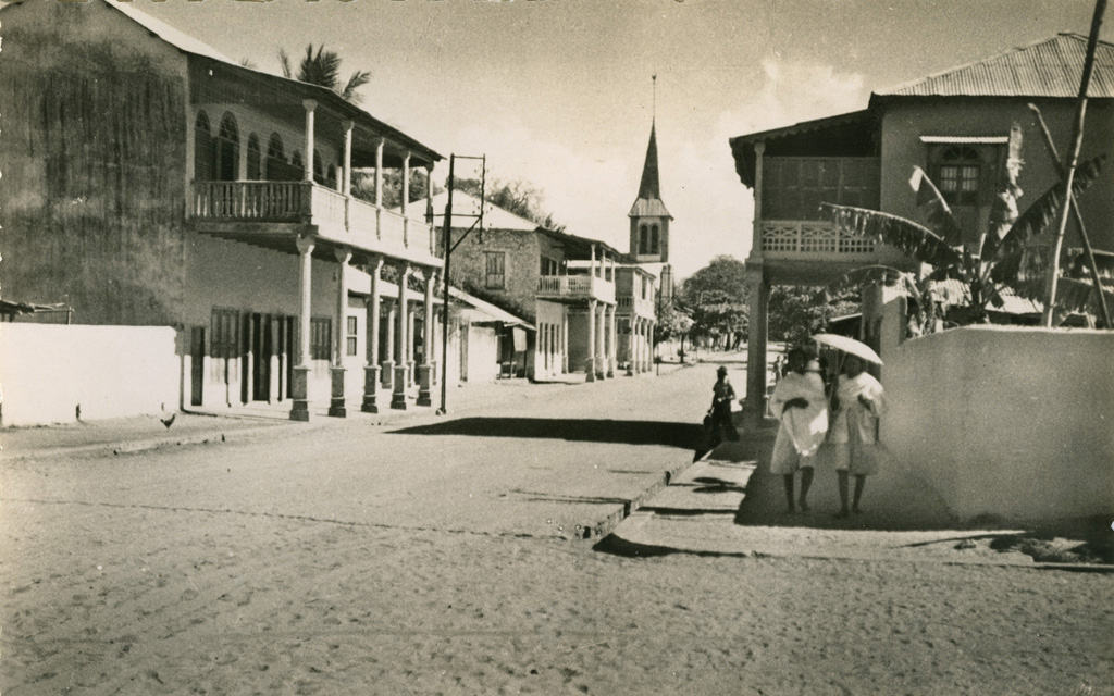 La grande rue de Marovoay