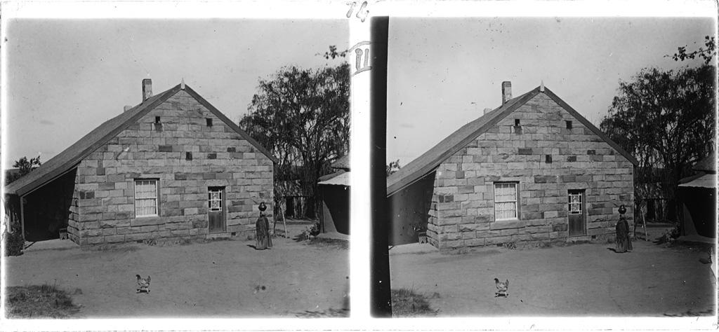 La maison d'un missionnaire à Qalo