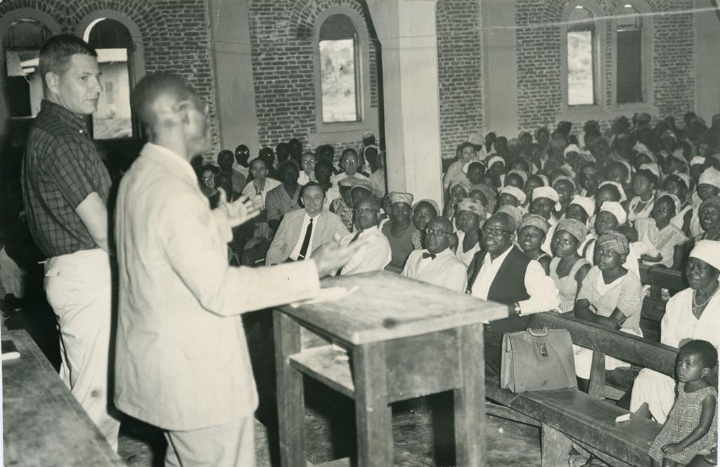 La prédication dans une église presbytérienne