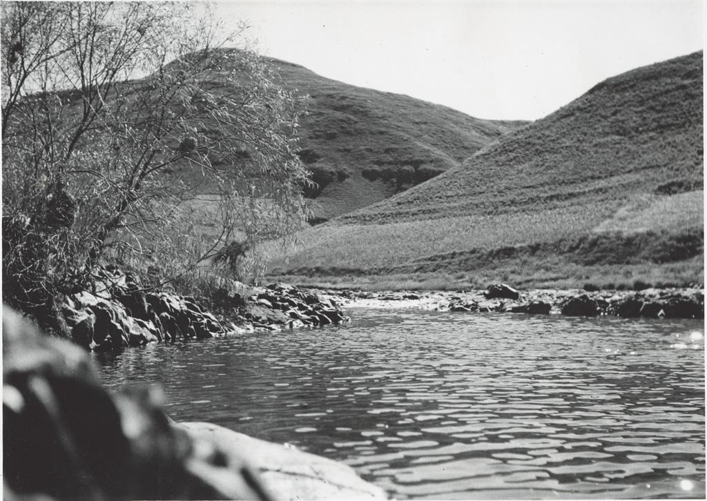 La rivière Seviqunyana dans les montagnes