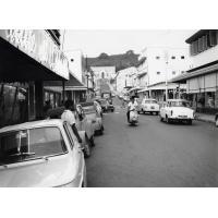 La rue de l'Alma à Nouméa