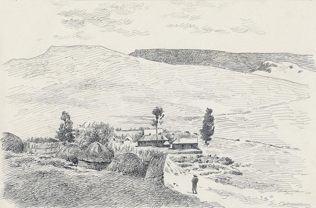 La station de Cana en 1882
