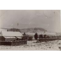 La station de Morija, le lundi 23 juillet 1900, sous la neige