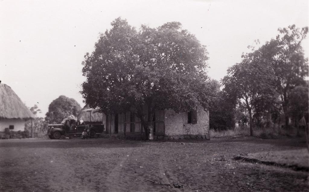 La vieille maison construite par la mission de Bâle en 1906