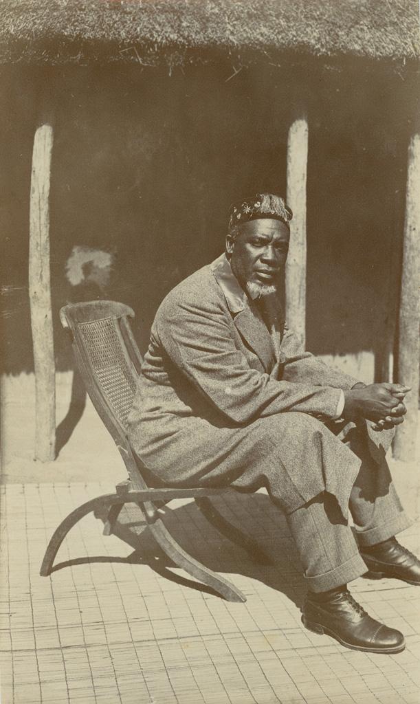 Le Litunga (roi des Lozi) Litia ou Yeta III