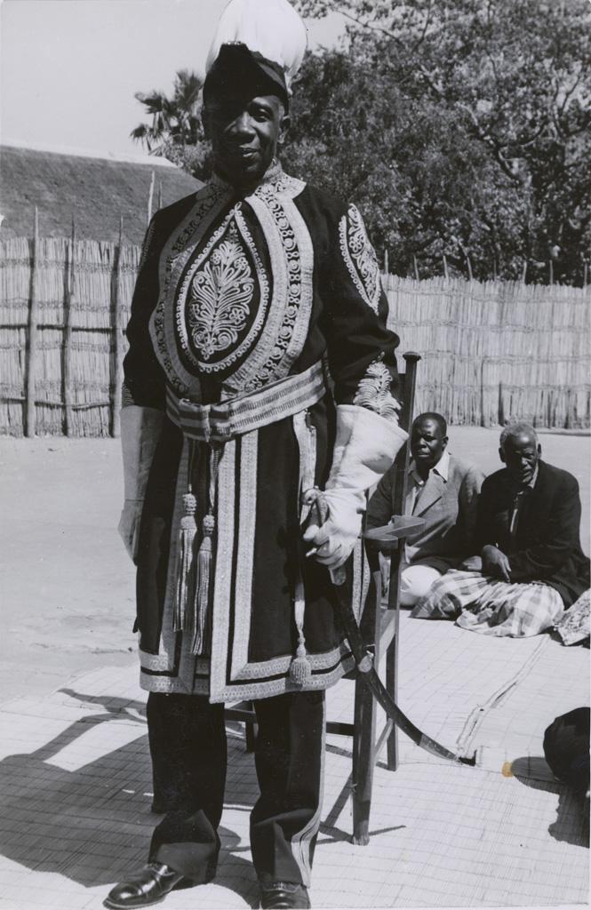 Le Litunga (roi des Lozi) Mwanawina III