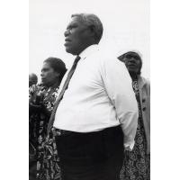 Le Pasteur Peteru Ihily, Président de l'Eglise Evangélique en Nouvelle-Calédonie