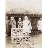 Le Sultan Njoya et son trône, fête nationale Bamoun