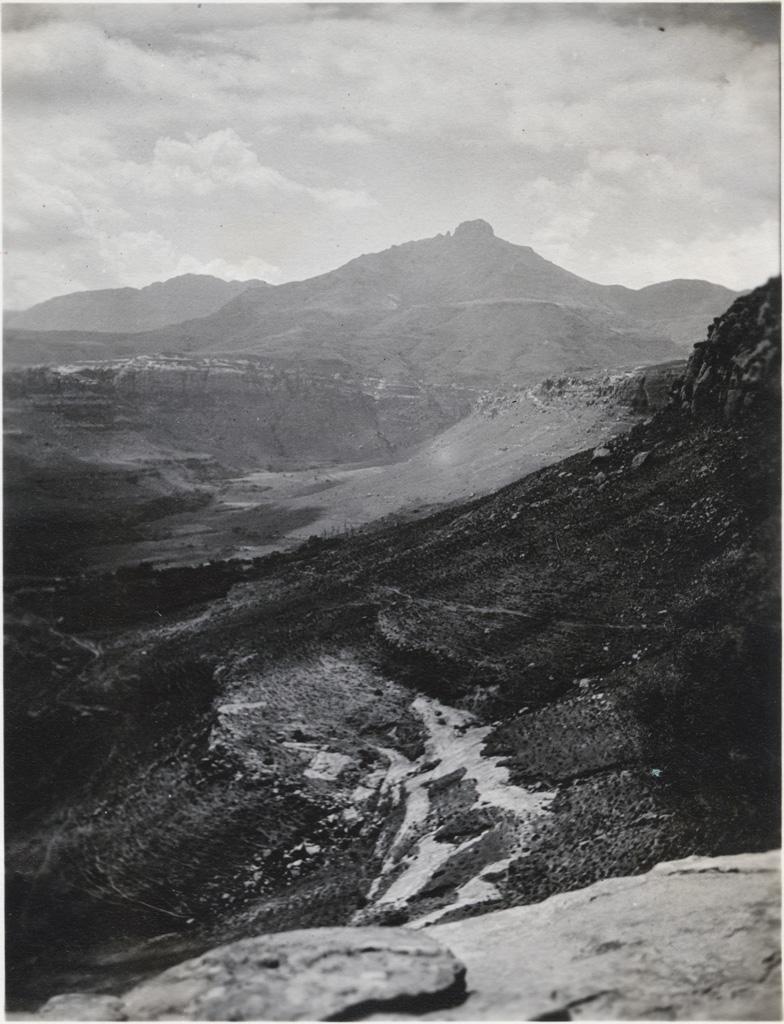 Le Thaba-Telle, aux environs de Morija