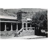"""Le bâtiment """"Preen Hall"""" à Leloaleng"""