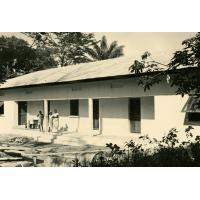 Le bâtiment d'hospitalisation