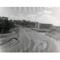 Le bâtiment de la faculté des lettres de l'université à Ankatso (nom de la localité où est située l'Université d'Antananarivo)