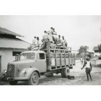 Le camion bien chargé