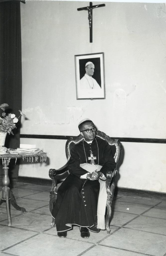 Le cardinal Jérôme Rakotomalala