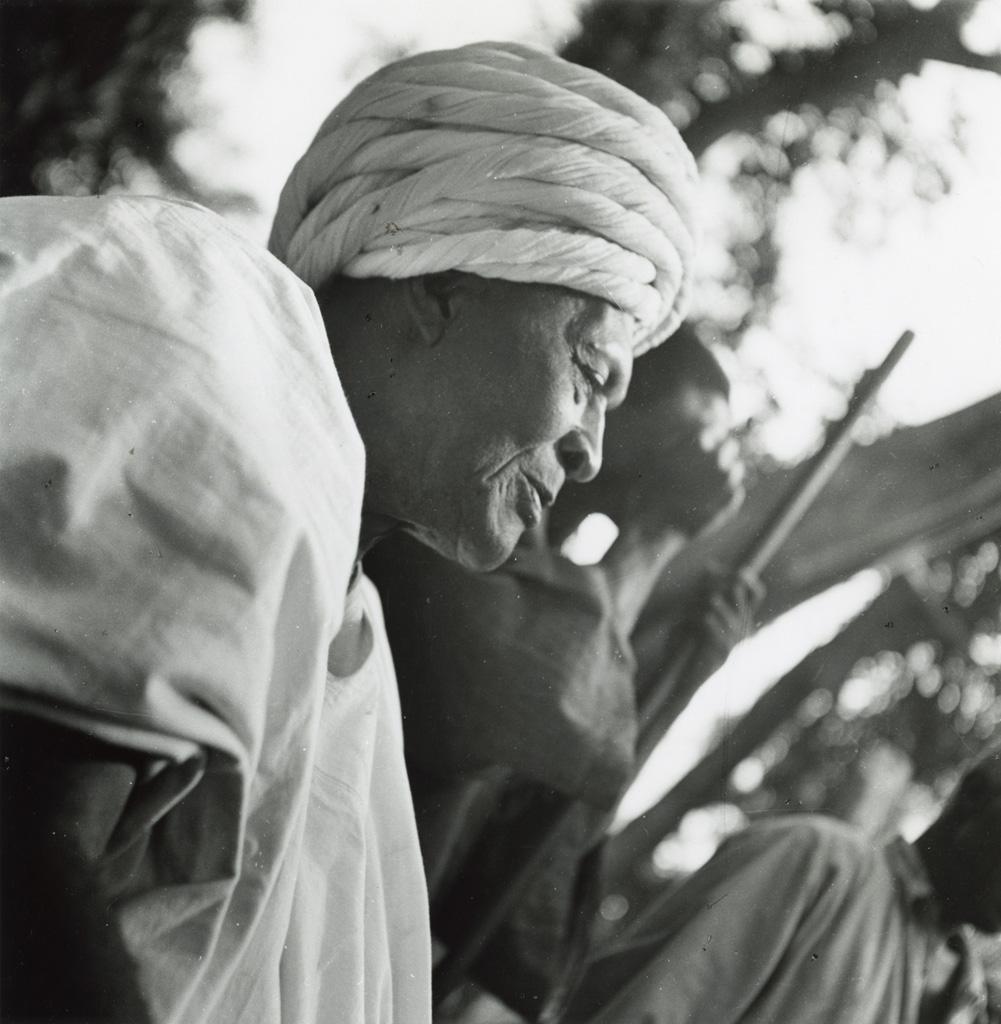 Le chef Nono, chef du village de Bangwa, pays Bamiléké