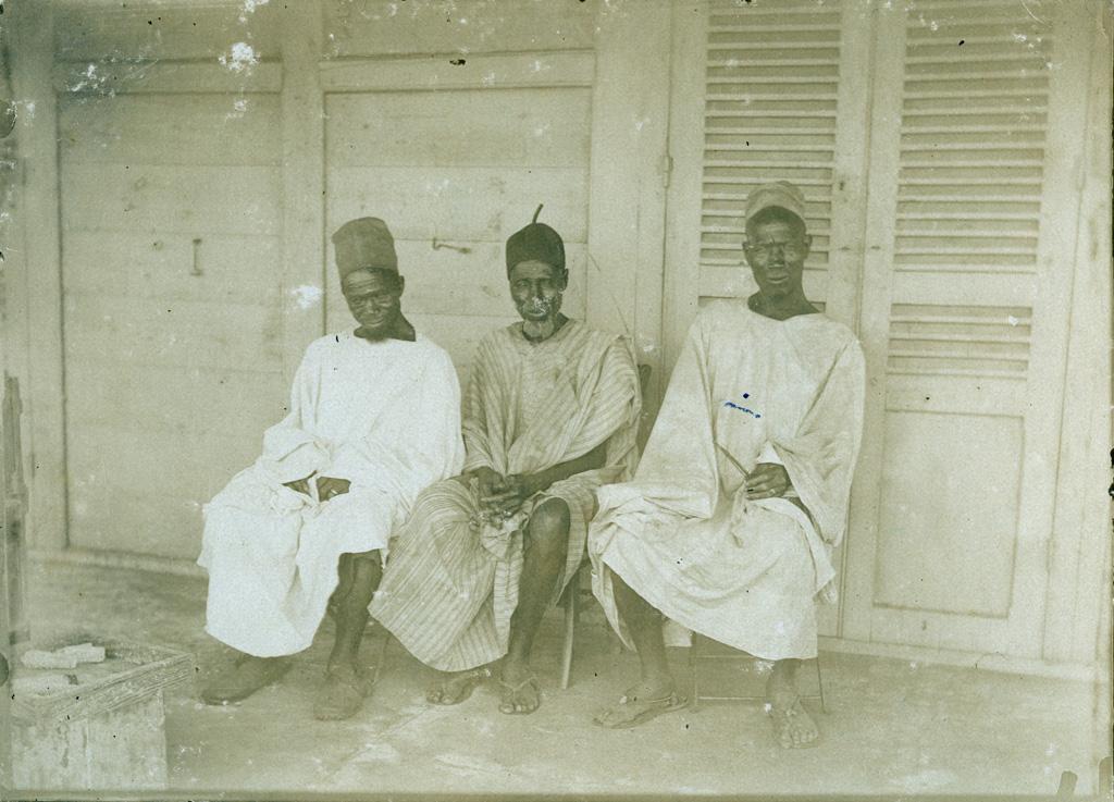 Le chef de Kerbala et ses deux conseillers