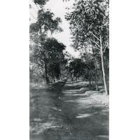 Le chemin de ronde, léproserie de Manankavaly