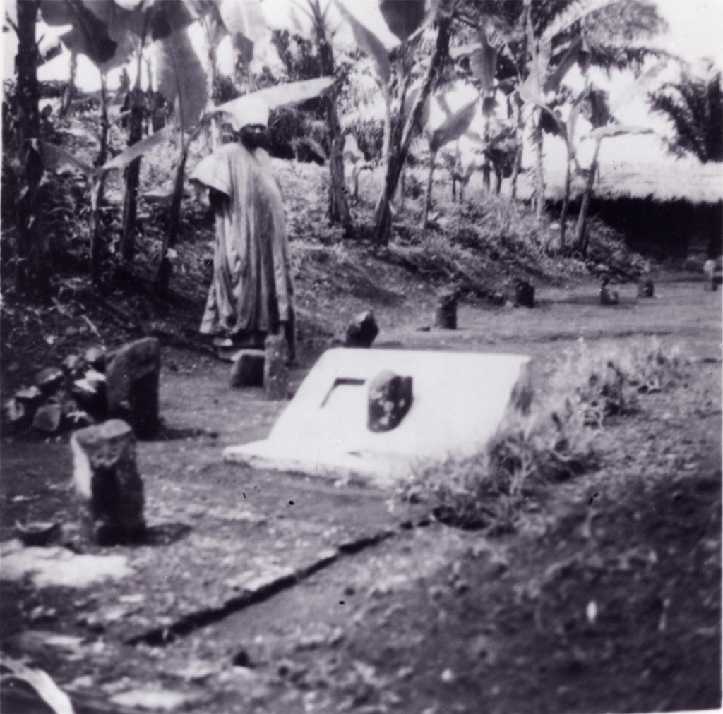 Le cimetière des rois, tombe de Njoya