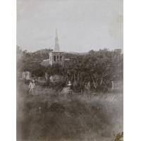 Le clocher de Mafulu vu du sud est