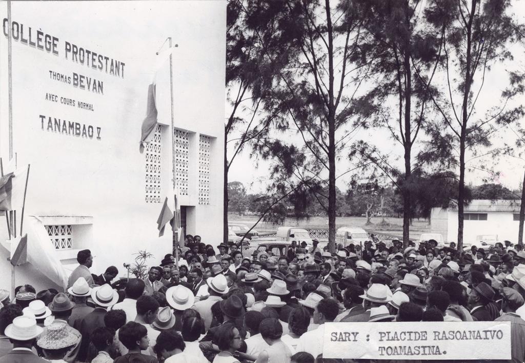 Le collège protestant de garçons de Tamatave
