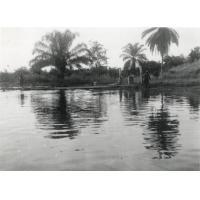 Le débarcadère dans l'estuaire du Gabon