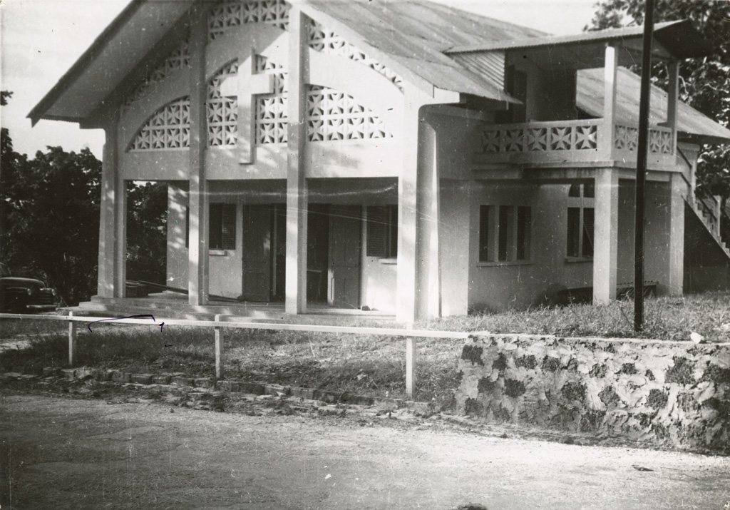 Le foyer de jeunesse de Libreville