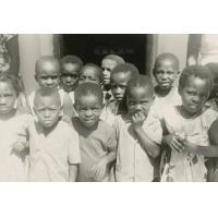 Le groupe d'enfants du jardin d'enfants de Baraka