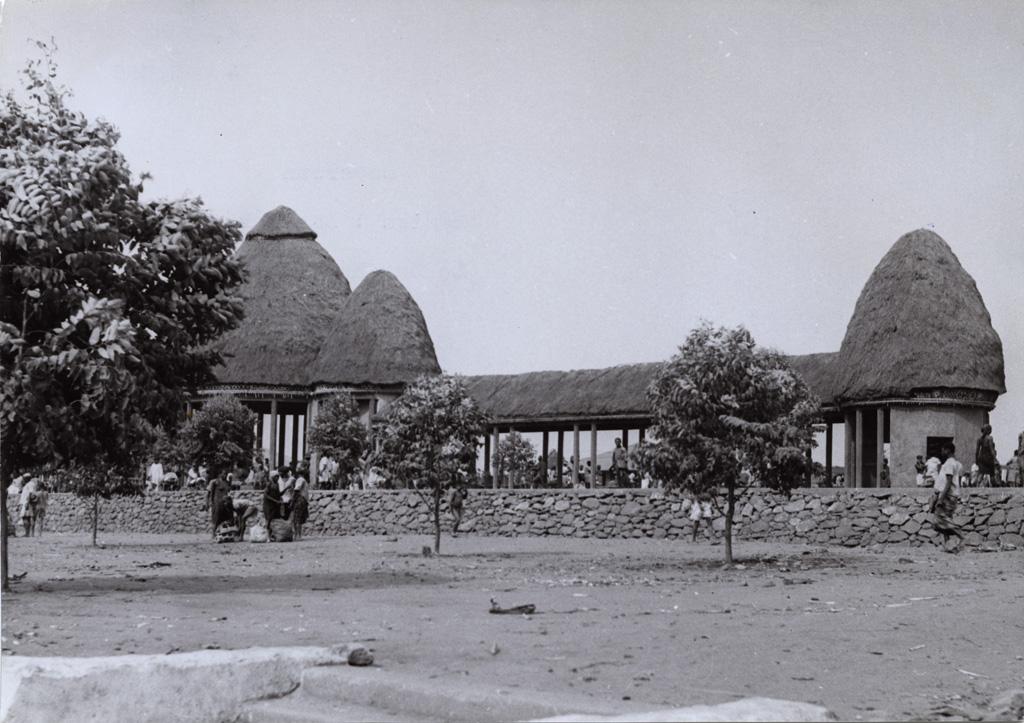 Le marché de Dschang / non identifié (1940/1960)