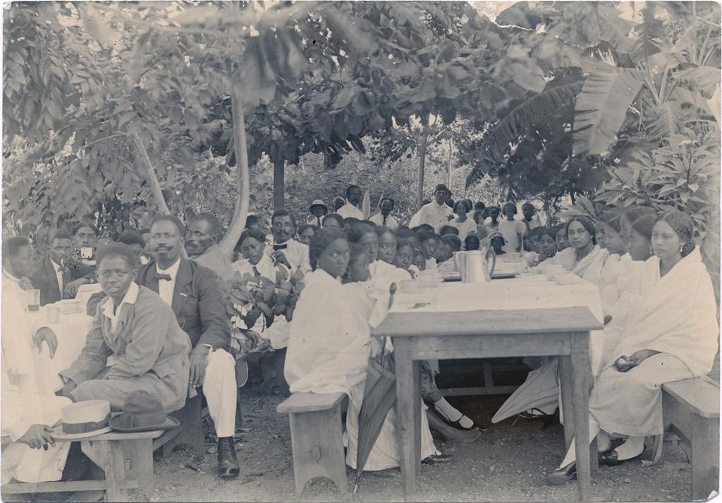 Le mariage d'une de nos jeunes filles malgaches
